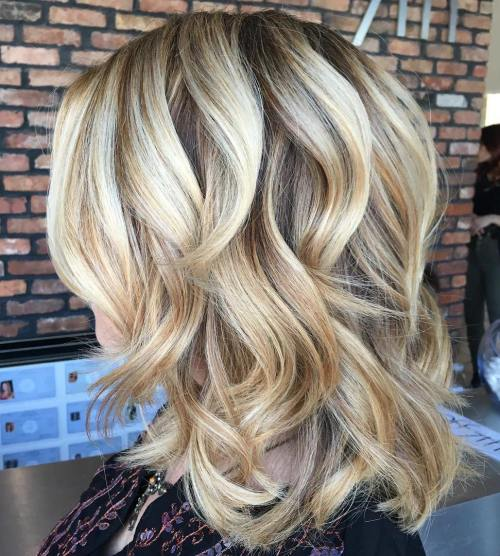 70 coiffures parfaites de longueur moyenne pour les cheveux fins 5e414b5522445 - 70 coiffures mi longues parfaites pour les cheveux fins