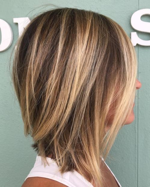 70 coiffures parfaites de longueur moyenne pour les cheveux fins 5e414b553e788 - 70 coiffures mi longues parfaites pour les cheveux fins