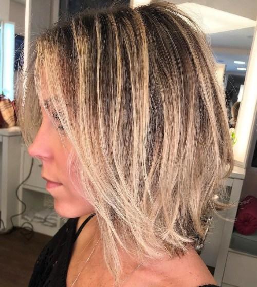 70 coiffures parfaites de longueur moyenne pour les cheveux fins 5e414b55cc03a - 70 coiffures mi longues parfaites pour les cheveux fins