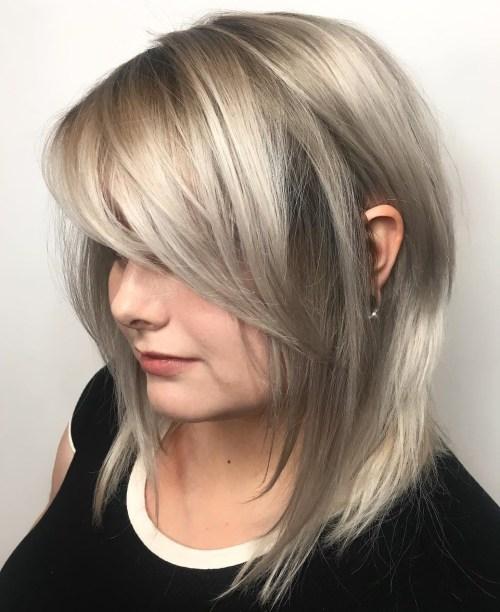 70 coiffures parfaites de longueur moyenne pour les cheveux fins 5e414b55e93a3 - 70 coiffures mi longues parfaites pour les cheveux fins