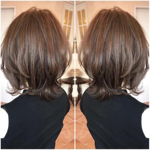 70 coiffures parfaites de longueur moyenne pour les cheveux fins 5e414b5610a3f - 70 coiffures mi longues parfaites pour les cheveux fins