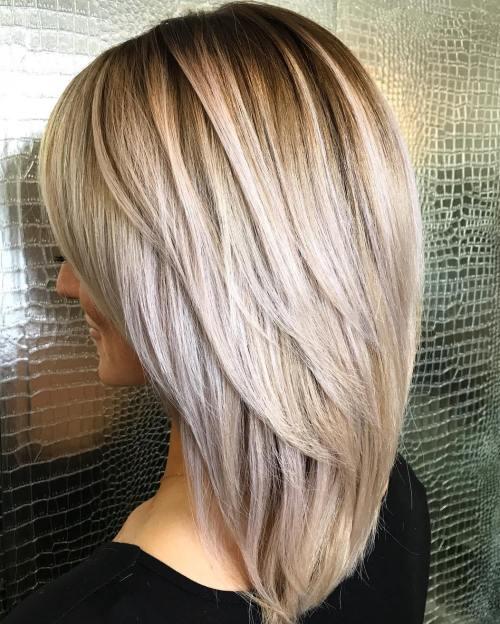 70 coupes de cheveux en couches moyennes les plus brillantes pour vous eclairer 5e414b048ad0b - 70 coupes mi longs de cheveux en couches les plus brillantes pour vous éclairer