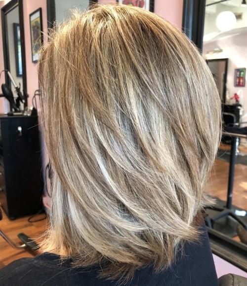 70 coupes de cheveux en couches moyennes les plus brillantes pour vous eclairer 5e414b054333d - 70 coupes mi longs de cheveux en couches les plus brillantes pour vous éclairer