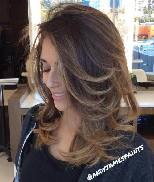 70 coupes de cheveux en couches moyennes les plus brillantes pour vous eclairer 5e414b066f71f - 70 coupes mi longs de cheveux en couches les plus brillantes pour vous éclairer