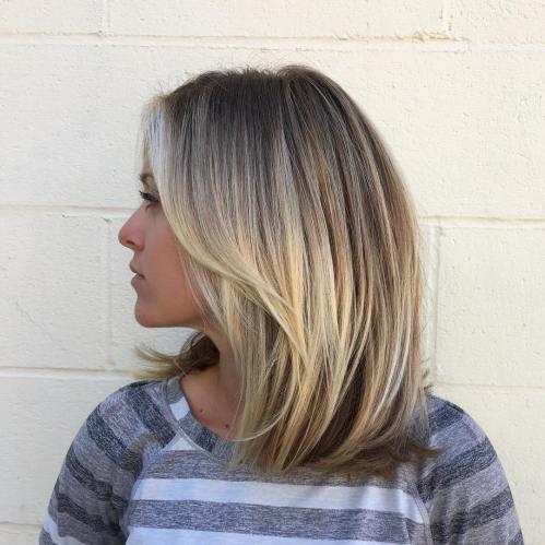70 coupes de cheveux en couches moyennes les plus brillantes pour vous eclairer 5e414b08b73ba - 70 coupes mi longs de cheveux en couches les plus brillantes pour vous éclairer