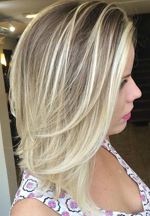70 coupes de cheveux en couches moyennes les plus brillantes pour vous eclairer 5e414b0a48ae9 - 70 coupes mi longs de cheveux en couches les plus brillantes pour vous éclairer