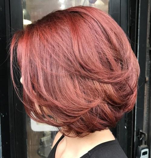70 coupes de cheveux en couches moyennes les plus brillantes pour vous eclairer 5e414b0ab9a66 - 70 coupes mi longs de cheveux en couches les plus brillantes pour vous éclairer