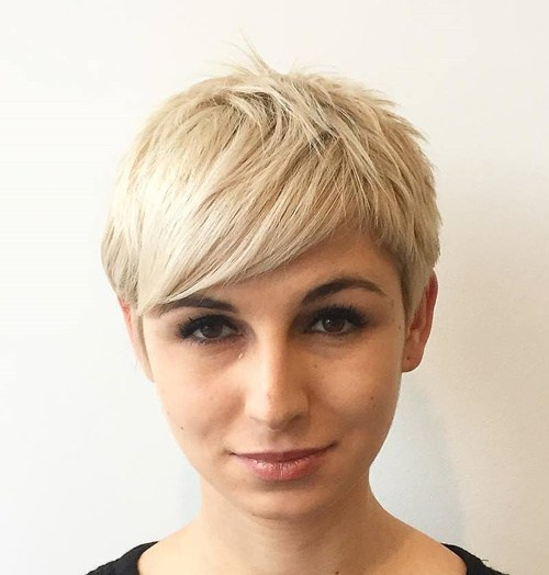 Chopped Blonde Pixie