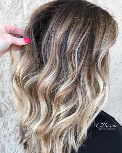 70 idees de couleurs de cheveux balayage flatteuses pour 2020 5e4280f0bb200 - Comment garder son bronzage après les vacances ?