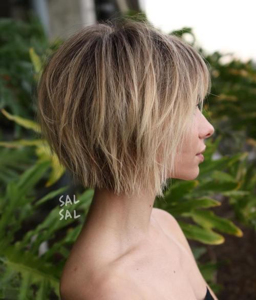 70 idees ecrasantes pour des coupes de cheveux courtes et saccadees 5e4142f11e6ae - 70 idées écrasantes pour des coupes de cheveux courtes et saccadées