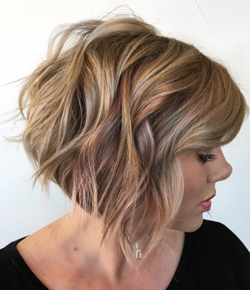 70 idees ecrasantes pour des coupes de cheveux courtes et saccadees 5e4142f595b12 - 70 idées écrasantes pour des coupes de cheveux courtes et saccadées