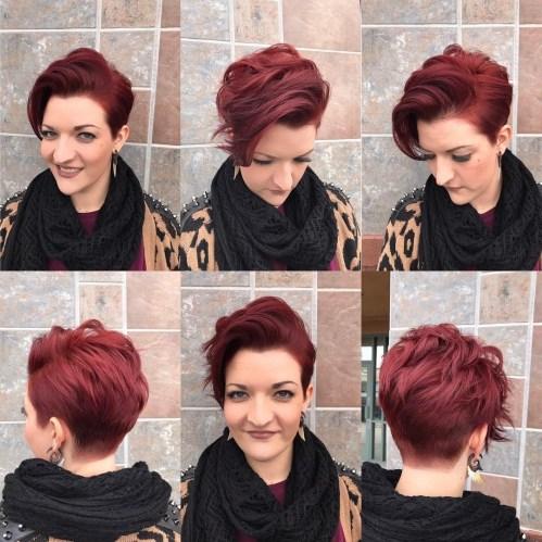 70 idees ecrasantes pour des coupes de cheveux courtes et saccadees 5e4142f872e22 - 70 idées écrasantes pour des coupes de cheveux courtes et saccadées