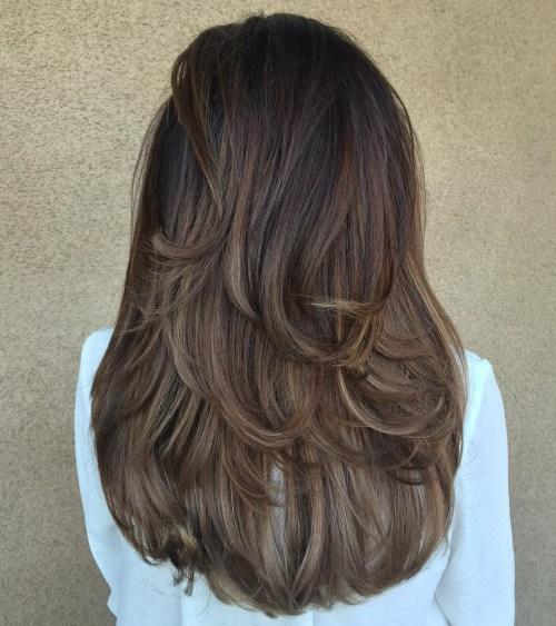 80 coiffures et coupes en couches mignonnes pour les cheveux longs 5e4157d0bf660 - 80 coiffures et coupes en couches mignonnes pour les cheveux longs
