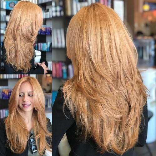 80 coiffures et coupes en couches mignonnes pour les cheveux longs 5e4157d447765 - 80 coiffures et coupes en couches mignonnes pour les cheveux longs