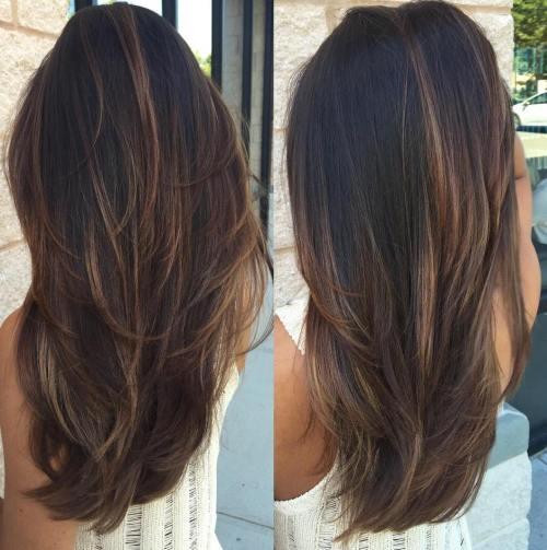 80 coiffures et coupes en couches mignonnes pour les cheveux longs 5e4157d566204 - 80 coiffures et coupes en couches mignonnes pour les cheveux longs