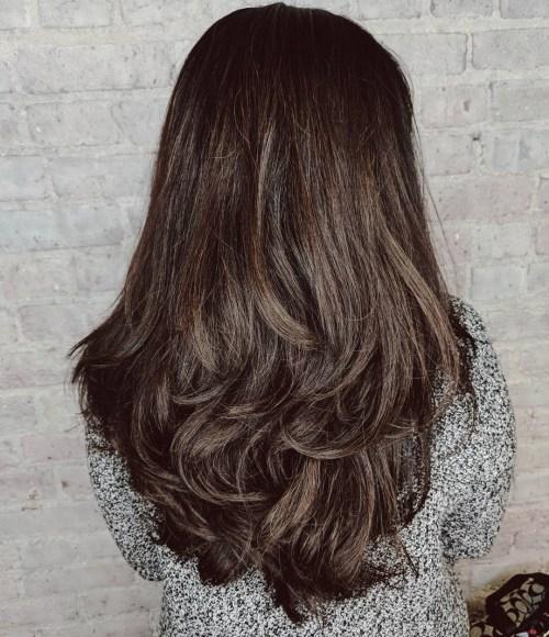 80 coiffures et coupes en couches mignonnes pour les cheveux longs 5e4157d6754a5 - 80 coiffures et coupes en couches mignonnes pour les cheveux longs