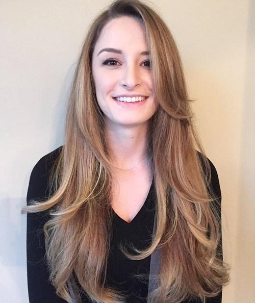 80 coiffures et coupes en couches mignonnes pour les cheveux longs 5e4157d77001e - 80 coiffures et coupes en couches mignonnes pour les cheveux longs