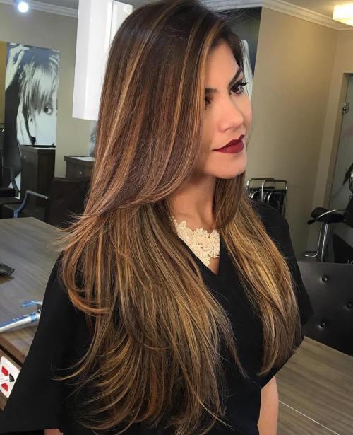 80 coiffures et coupes en couches mignonnes pour les cheveux longs 5e4157d78e045 - 80 coiffures et coupes en couches mignonnes pour les cheveux longs