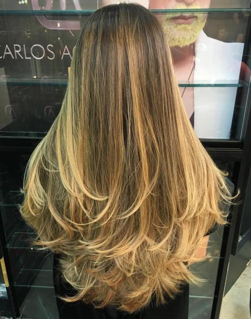 80 coiffures et coupes en couches mignonnes pour les cheveux longs 5e4157d80fee4 - 80 coiffures et coupes en couches mignonnes pour les cheveux longs