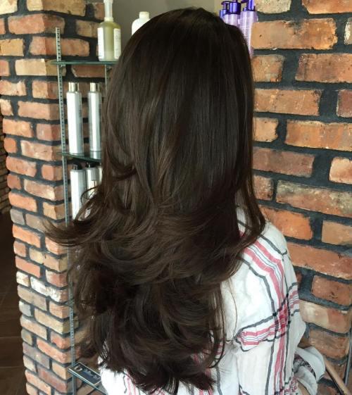 80 coiffures et coupes en couches mignonnes pour les cheveux longs 5e4157d8ce113 - 80 coiffures et coupes en couches mignonnes pour les cheveux longs