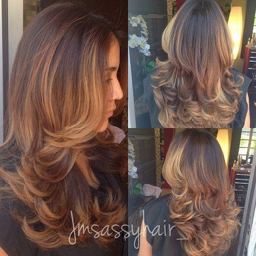 80 coiffures et coupes en couches mignonnes pour les cheveux longs 5e4157da341a0 - 80 coiffures et coupes en couches mignonnes pour les cheveux longs