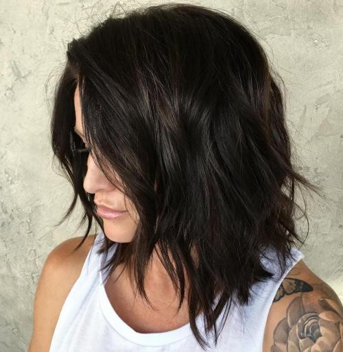 80 coupes de cheveux sensationnelles de longueur moyenne pour les cheveux epais 5e414ab4c8b8e - 80 coupes de cheveux sensationnelles de longueur moyenne pour les cheveux épais