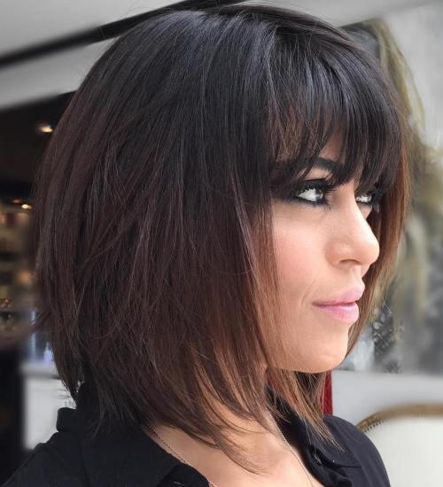 80 coupes de cheveux sensationnelles de longueur moyenne pour les cheveux epais 5e414ab797586 - 80 coupes de cheveux sensationnelles de longueur moyenne pour les cheveux épais
