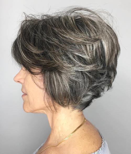 """90 coiffures courtes chics et simples pour les femmes de plus de 50 ans 5e4143107d0ac - """"Gâteaux mystère"""" par Sarah Vasseghi"""