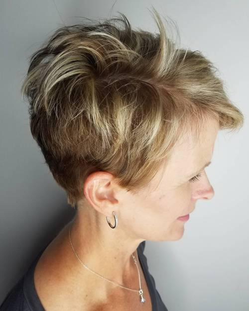 Over Short Layered Pixie