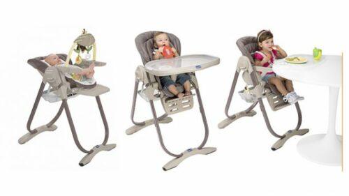 chaise haute bebe chicco 500x281 - Chaise haute Chicco Polly : Un must pour les repas de votre bébé