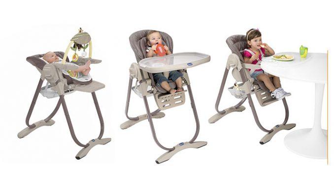 Chaise haute Chicco Polly : Un must pour les repas de votre bébé