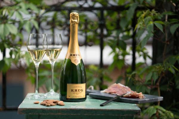 Ce qu'il faut savoir sur le Champagne Krug, boisson de luxe!