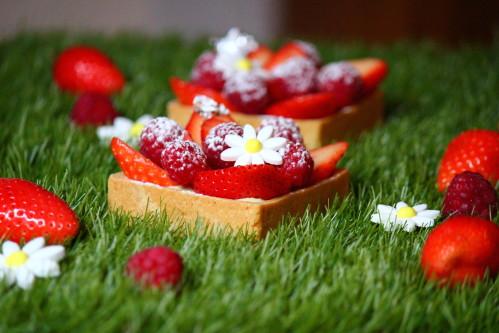 tartelette fraise 008 - J'aime la patisserie!