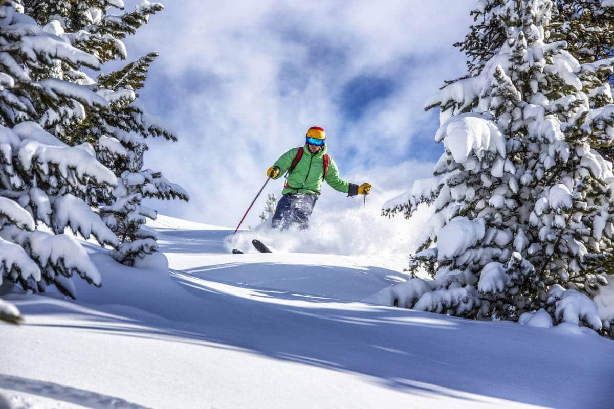 Apaiser la peau après une journée au ski