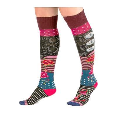 jambiere motif mulicolore e1585382955677 - 3 tendances chaussettes pour le printemps 2020