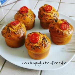 muffins sales sans gluten - Recettes sucrées salées Régimes sans gluten