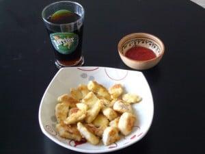 nuggets dinde sans gluten - Recettes sucrées salées Régimes sans gluten