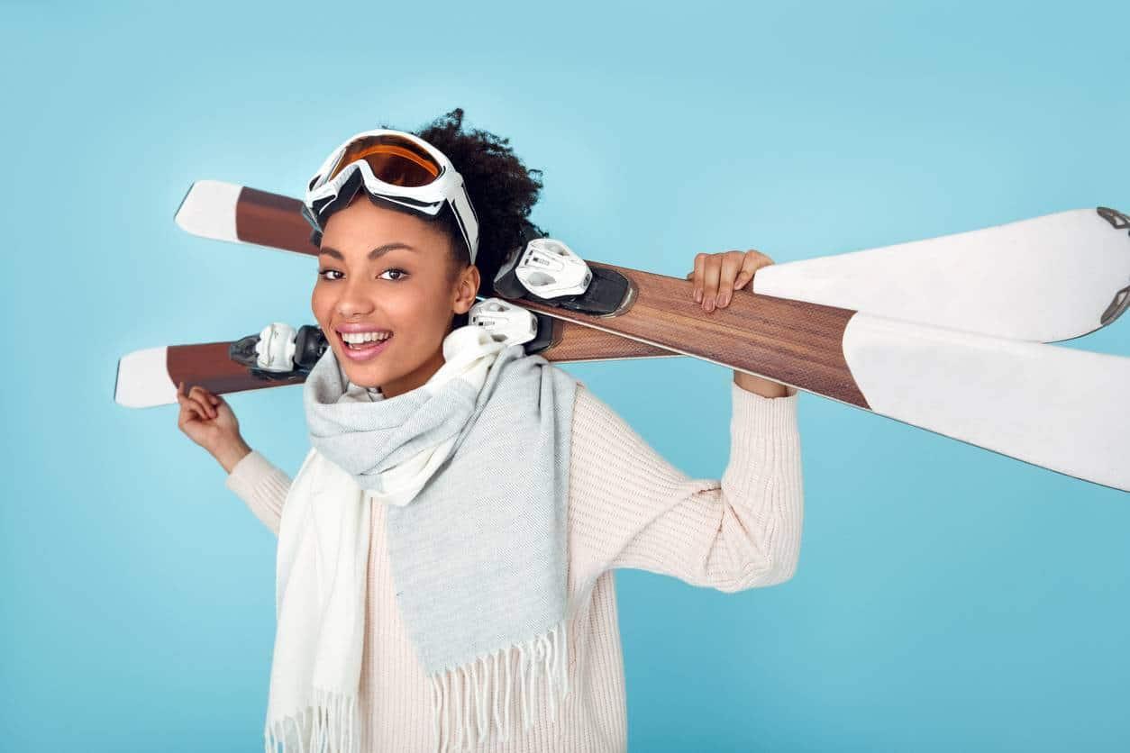 picture journee apaiser apres peau une - Apaiser la peau après une journée au ski