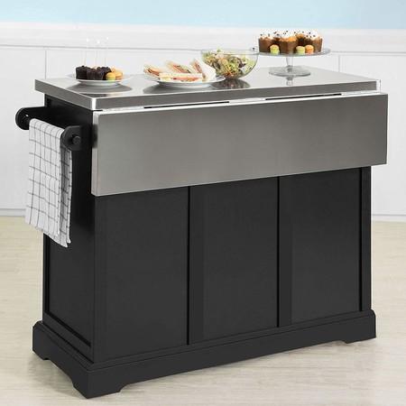 15 ilots de cuisine mobiles pour ajouter une surface de travail et un rangement de cuisine 5e5a55dea2141 - 15 îlots de cuisine mobiles pour ajouter une surface de travail et un rangement de cuisine