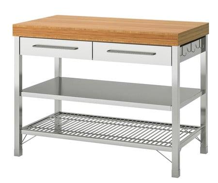 15 ilots de cuisine mobiles pour ajouter une surface de travail et un rangement de cuisine 5e5a55e3d7bcb - 15 îlots de cuisine mobiles pour ajouter une surface de travail et un rangement de cuisine