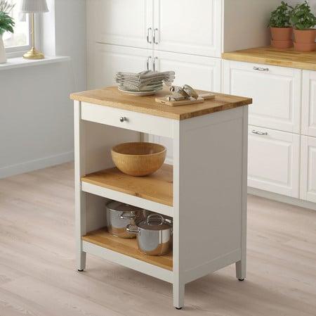 15 ilots de cuisine mobiles pour ajouter une surface de travail et un rangement de cuisine 5e5a55e5a3efa - 15 îlots de cuisine mobiles pour ajouter une surface de travail et un rangement de cuisine