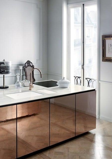 17 idees pour decorer la cuisine avec des accessoires et des meubles en cuivre 5e5a6433f414f - 17 idées pour décorer la cuisine avec des accessoires et des meubles en cuivre