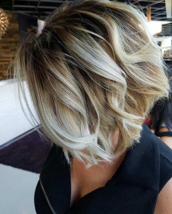 coloration balyage cheveux 0007 - 10 idées de balayage pour tout type et longueur de cheveux - Balayage miel