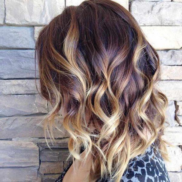 coloration balyage cheveux 0009 - 10 idées de balayage pour tout type et longueur de cheveux - Balayage miel