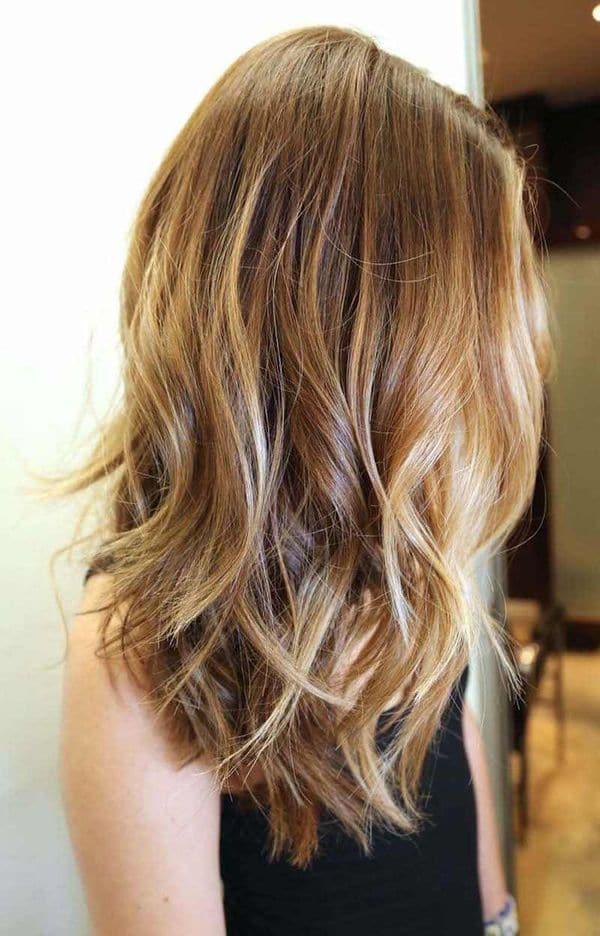 coloration balyage cheveux 0011 - 10 idées de balayage pour tout type et longueur de cheveux - Balayage miel