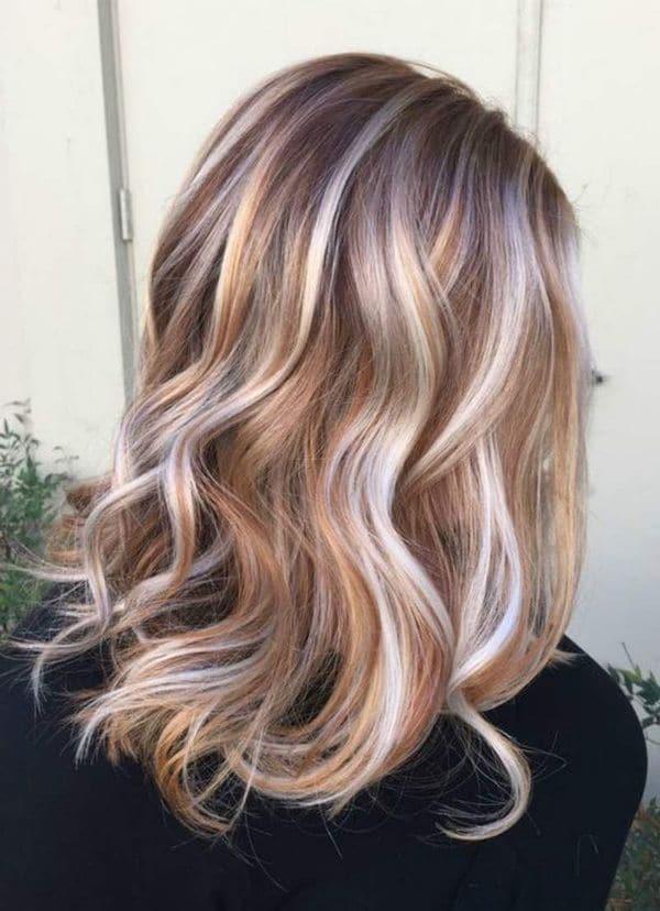 coloration balyage cheveux 0012 - 10 idées de balayage pour tout type et longueur de cheveux - Balayage miel
