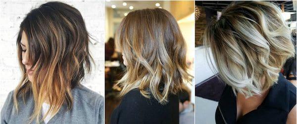 coloration balyage cheveux 0013 - 10 idées de balayage pour tout type et longueur de cheveux - Balayage miel