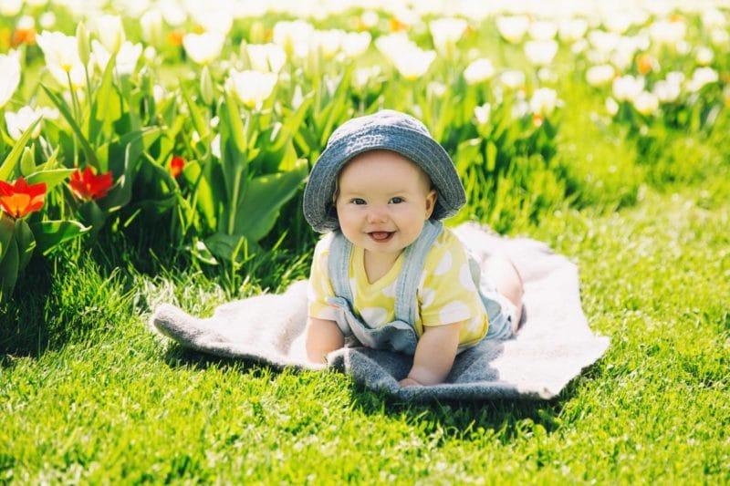 Quand les couches de bébé se mettent au vert bio !
