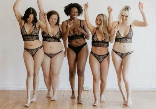 lingerie morphologie 500x352 - Comment choisir le sous-vêtement parfait selon sa morphologie ?