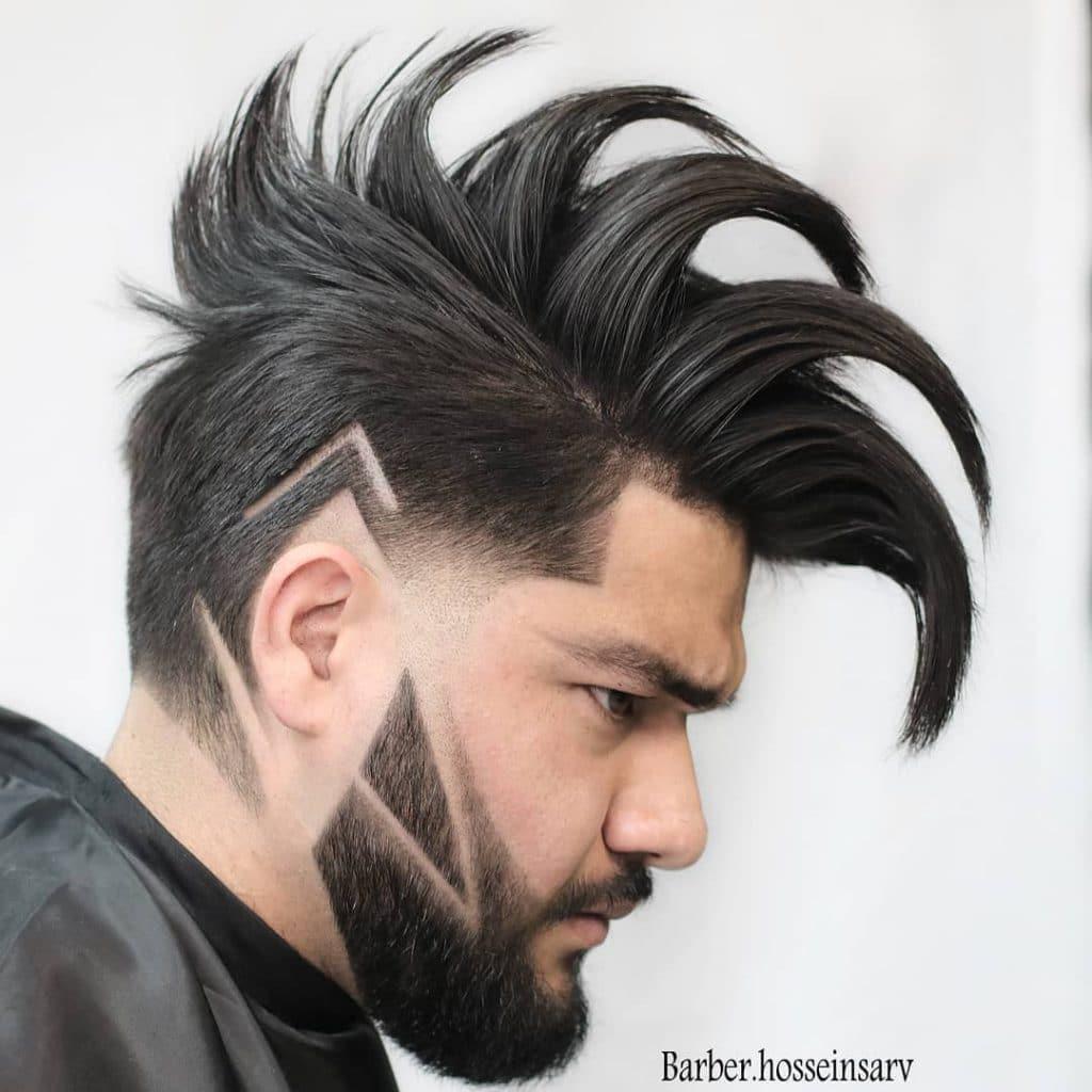 dessins de coupe de cheveux lignes 5f47b3b4c7aad - Coupe moderne homme - Coupe de cheveux homme